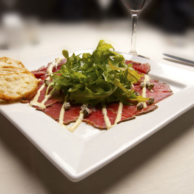 A Carpaccio Appetizer